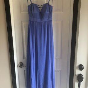 NWT floor length gown